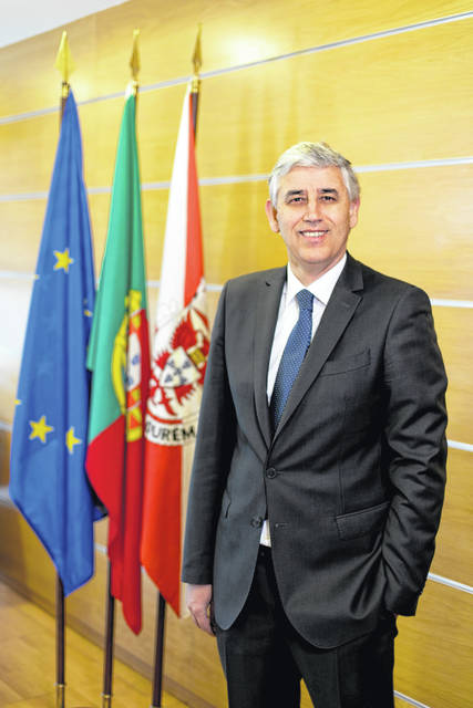 Luis Miguel Albuquerque, the mayor of Fatima, Portugal
