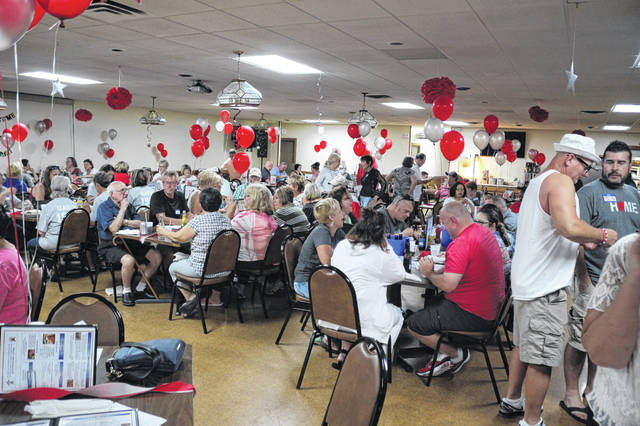Anyone who was a graudate of Lima Senior, South or Central High School were invited to a class reunion at the Lima Eagles. Jeff and Pam McElroy have been putting on the all-classes reunion for the past seven years.