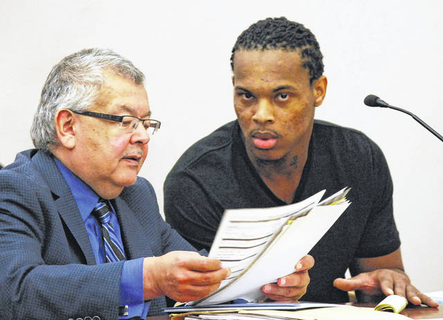 Derrick Martre, 27, of Toledo, was in a Lima courtroom Tuesday for sentencing on charges related to his fondling of pre-pubescent girls at a Lima residence last year. But when Martre became combative with the judge the sentencing hearing was postponed until next week.