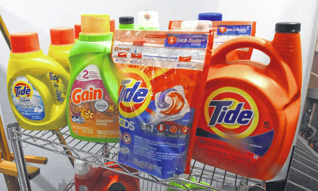 Tide and Gain are among the products made at the Lima plant for Procter & Gamble.