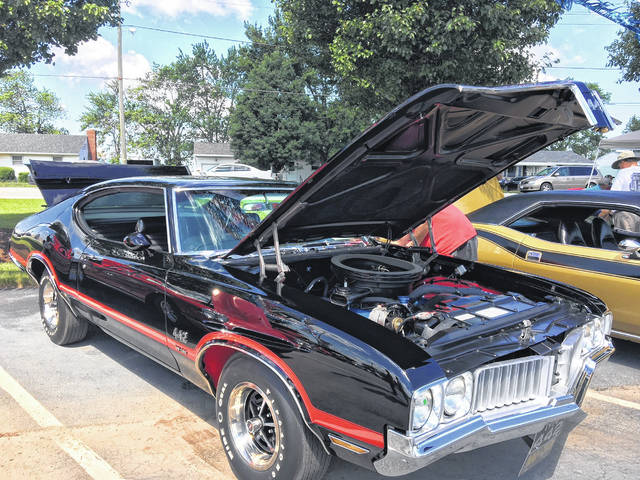 Darrel and Beth Kistler, of Lima, debuted their 1970 Oldsmobile 442 W30 at the Lima Chevrolet Cadillac Charity Car Show in June.