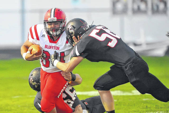Bluffton's Deandre Nassar will be the featured back for the Pirates. Last season Nassar rushed for 434 yards and three touchdowns.