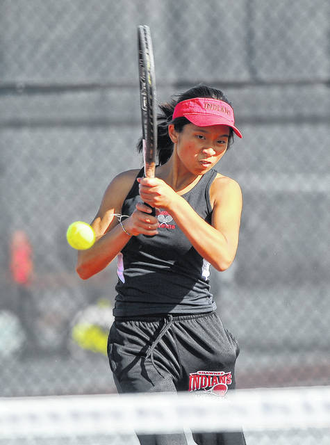 Shawnee's Alotus Wei won their first singles crown in last year's Western Buckeye League tournament at UNOH.