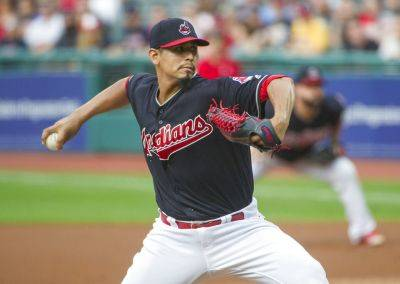 The Indians' Carlos Carrasco pitched seven scoreless innings against Baltimore in earning his 15th win of the season Friday night in Cleveland.