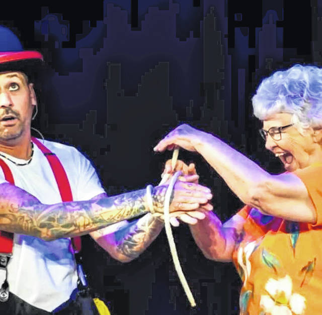 Crazy Mike V will offer magic shows at the fair this year.