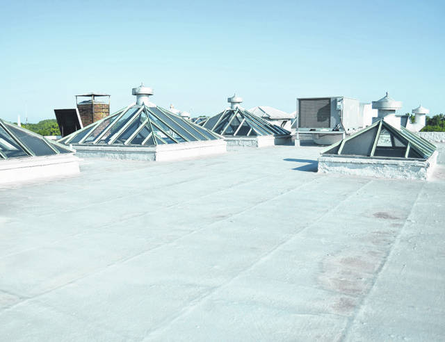 During the first week of September, a project to replace the current Putnam County Courthouse roof with a Duro-Last membrane will begin. The project will cost almost $300,000, said Administrator Jackson Betscher.
