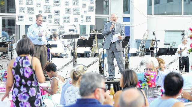 Mayor David Berger speaks during Toast to the City on Thursday.
