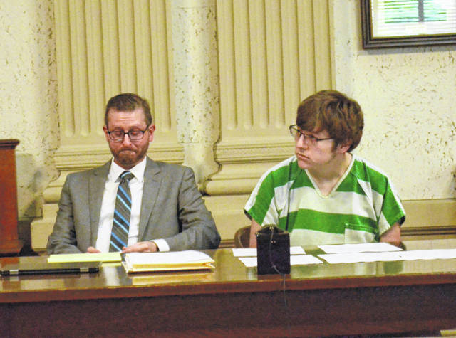 Samuel Williams,22, appeared before Judge Keith Schierloh in the Putnam County Common Pleas Court Tuesday to change his plea to guilty on one count of rape, a first-degree felony, one count of unlawful sexual conduct with a minor, a fourth-degree felony and a new charge of gross sexual imposition, a third-degree felony. Williams admitted to raping a 4 or 5-year-old girl in 2014 and having sexual contact with a girl between 13 and 16 years of age in 2017.
