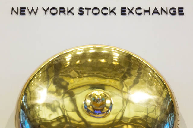 FILE- This Jan. 9, 2017, file photo shows the opening bell at the New York Stock Exchange. The U.S. stock market opens at 9:30 a.m. EDT on Wednesday, Sept. 5, 2018. (AP Photo/Mark Lennihan, File)