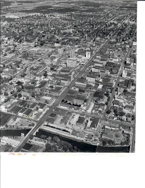 Downtown Lima in the 1950s. Lima News file photo