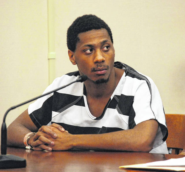 Lima resident JC Brown III was sentenced Monday to eight years in prison for a pair of shooting incidents in June, including one that left a Lima man with a gunshot wound to the abdomen.