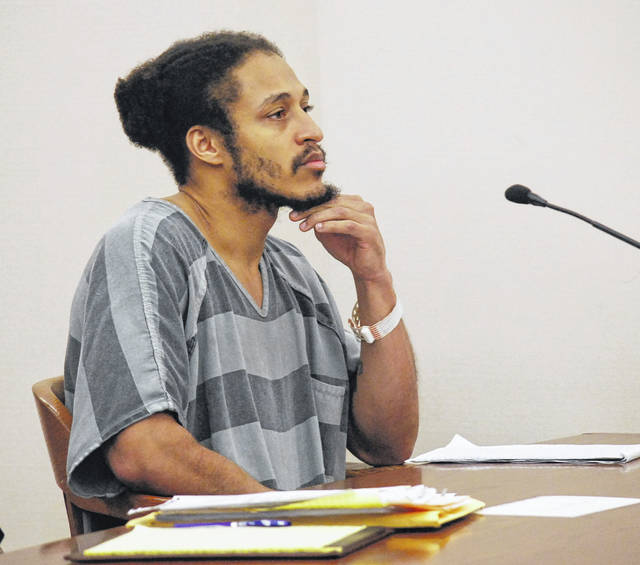 Justin Shears, 33, of Lima, appeared in Allen County Common Pleas Court on Tuesday in an attempt to have his court-appointed attorney removed from the case. Instead, Shears is facing charges of aggravated robbery with a firearm specification, felonious assault with a firearm specification and having a weapon under disability in connection with a Sept. 20, 2017, incident at Marko's Bar on South Main Street that left a Lima man injured.
