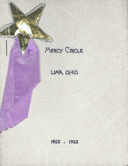 A booklet from 1952-'53 from Lima's Mercy Circle. It focused on philanthropic projects.