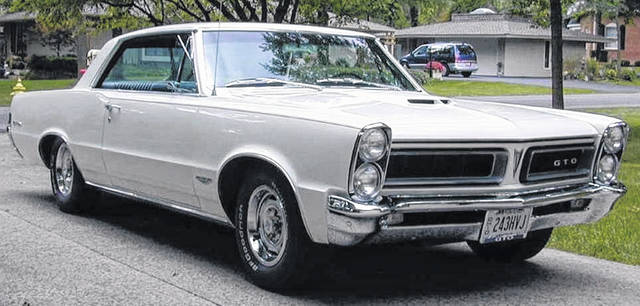 Barrett Rydell, of Lima, purchased this 1965 Pontiac GTO in October 1993.