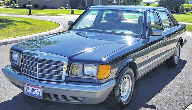 Herman Ring, of Pandora, owns this 1985 Mercedes 300 SD Turbo Diesel.