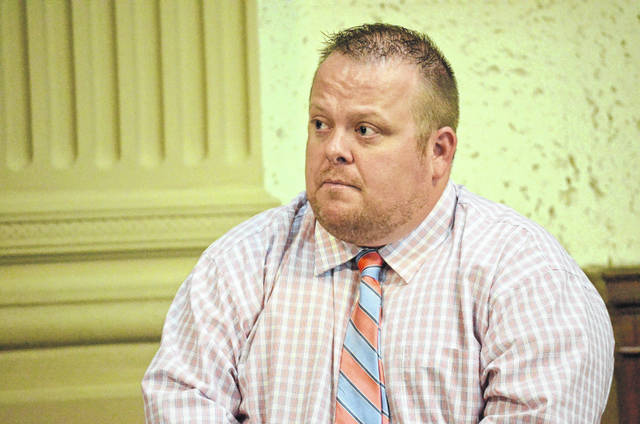 Kyle Unverferth, 40, of Kalida, changed his plea to guilty on theft in office charges Thursday after Judge Keith Schierloh granted a motion for treatment in lieu of conviction.