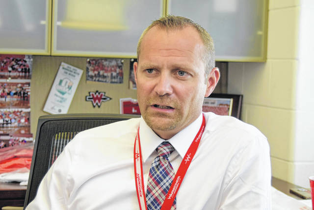 Brad Rex, Wapakoneta Schools athletic director earned $85,514.92 as a full time athletic director in the 2017-18 school year.