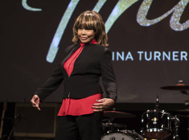 "FILE - In this Oct. 17, 2017, file photo, musician Tina Turner poses during a photo call to promote the launch of the musical ""Tina"", in London. Producers of ""Tina"" said Wednesday, Oct. 3, 2018, a new musical based on the life of the legendary artist will land on the Great White Way in the fall of 2019. Performances dates, casting and all further details will be announced in the coming months. (Photo by Vianney Le Caer/Invision/AP, File)"