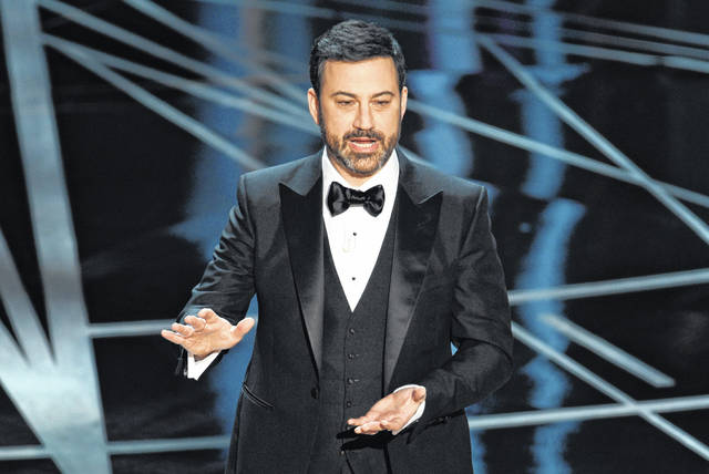 Jimmy Kimmel, shown hosting the Oscars this year, will see a dream come true next spring when he opens a comedy club in Las Vegas. He will make regular appearances and also give up-and-coming comics a chance to hone their talents before a live audience.