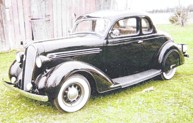 Phillip Cramer, of Ottawa, purchased this 1936 Plymouth P1 in January of 1968.