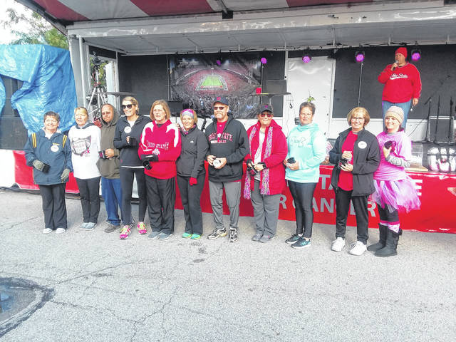 Cancer survivors were honored at the Tailgate for Cancer at the St. Marys Eagles.