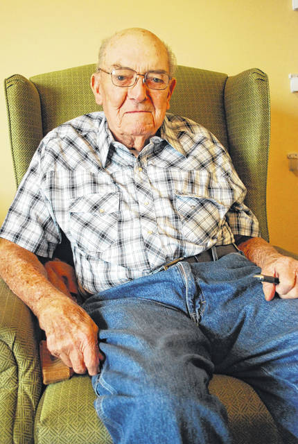 For 59 years Ed Alt has been helping prepare chicken dinners for the SS. Peter and Paul Catholic Church's annual fall festival. He plans to make it 60 consecutive years when this year's festival rolls around on Nov. 4.