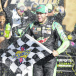 Elliott wins for 2nd time in 3 NASCAR playoff races