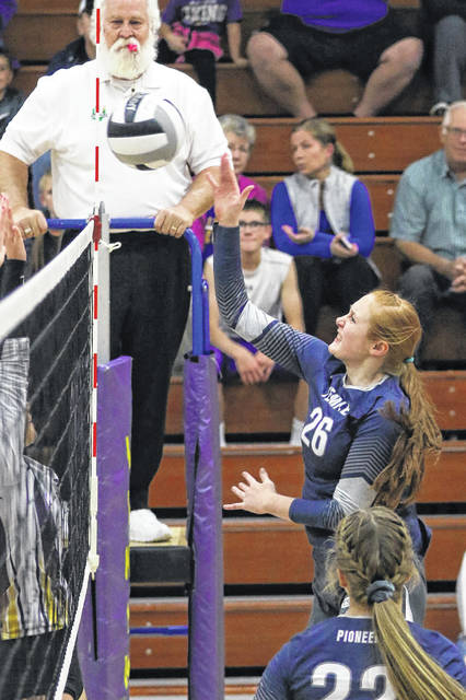 Strong serving lifts Miller City past Pandora-Gilboa in sectional volleyball