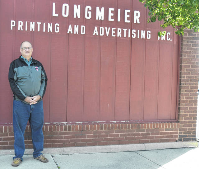 Longmeier Printing and Advertising owner Michael Frueh has plans to auction off items inside the building on 232 N. Union St. and officially shut it down after Jan. 1, 2019.