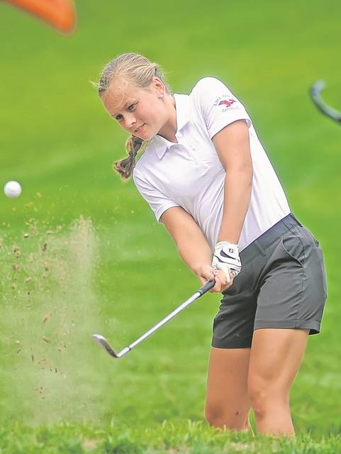Lima Central Catholic's Meghan Mulcahy and the rest of the Thunderbird linksters are confident going into the Division II state tournament Friday.
