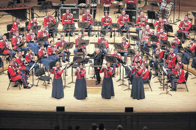 The U.S. Marine Band will be in concert Monday.