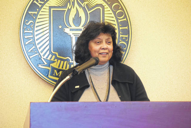 Rhodes State College President Debra McCurdy announces that she's leaving the college in Spring 2019 to become president of Baltimore City Community College. She's been the president at Rhodes State since 2006.