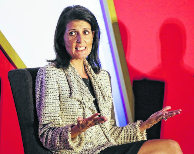 As United Nation's ambassador, Nikki Haley has performed with excellence, sometimes speaking independently rather than parroting Trump's positions. In so doing, she has earned the respect of men and women across the spectrum and has become a political candidate to watch. AP Photo