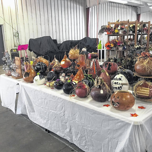 Crafts will be on sale during the Van Wert Apple Festival at the Van Wert County Fairgrounds.