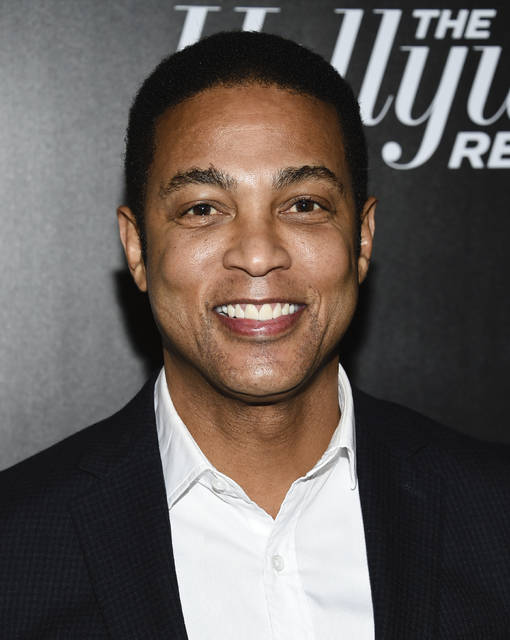 FILE - In this April 12, 2018 file photo, CNN news anchor Don Lemon attends The Hollywood Reporter's annual 35 Most Powerful People in Media event in New York. CNN isn't commenting about Don Lemon's statement that white men represent the biggest terrorist threat in the country.