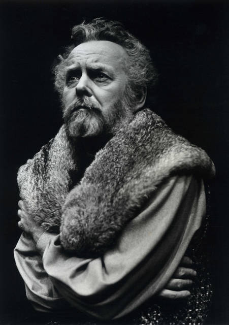 "In this June 7, 1979 photo provided by Stratford Festival, Actor Douglas Rain appears as King Henry IV in this scene from The Second Part of Henry IV at Stratford's Festival Theatre in Stratford, Ontario. Rain, who played some of Shakespeare's most intriguing characters onstage but perhaps is best known for supplying the creepily calm voice of the rogue computer HAL in Stanley Kubrick's ""2001: A Space Odyssey"" has died."
