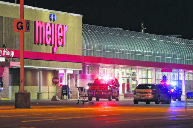 The Meijer store in Lima was evacuated for five hours Sunday evening after a suspicious package was brought into the store. Levi A. Morman | The Lima News