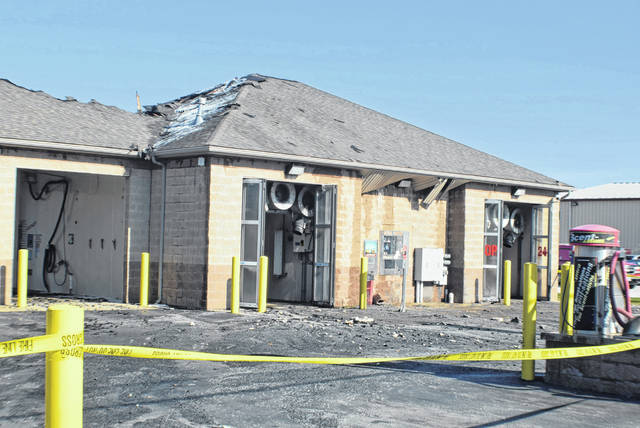 Fire damaged Performance Car Wash, Saturday night. The cause is under investigation.