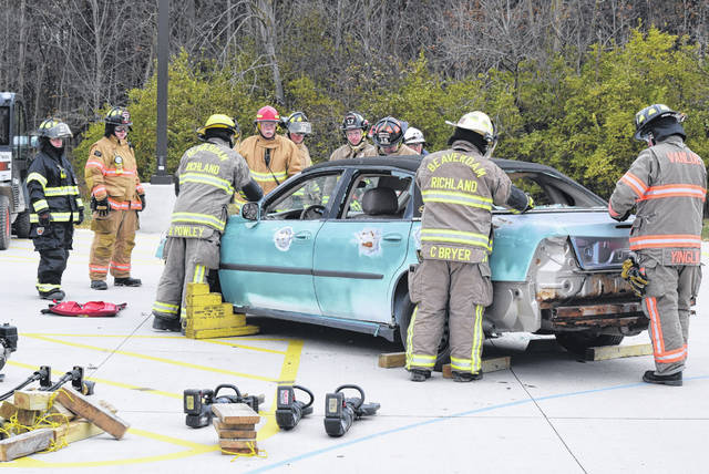 Firefighters from around the region participated in the 2nd annual regional Fire/EMS School seminar at Apollo Career Center.
