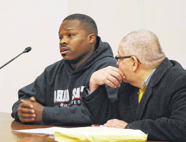 Jeffrey Fails, 30, of Lima, will stand trial Jan. 22 on charges of kidnapping, extortion and robbery after waiving his right to a speedy trial on Tuesday.