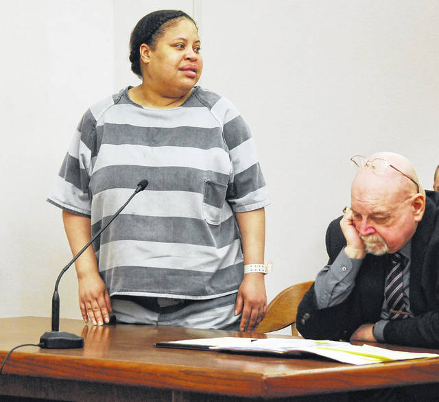 Marchion Williams, 40, addressed the family of Eddie McClellan in Allen County Common Pleas Court Tuesday morning just minutes before being sentenced to 15 years to life in prison for stabbing the Lima man to death earlier this year.