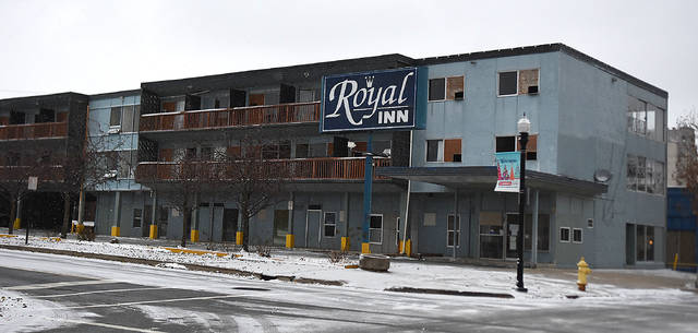 The Royal Inn Motel in downtown Lima is set to be demolished by the end of the year.