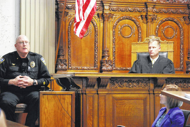 Pandora Police Chief Scott Stant testified Monday during the opening day of Megan Schnipke's jury trial in Putnam County Common Pleas Court.