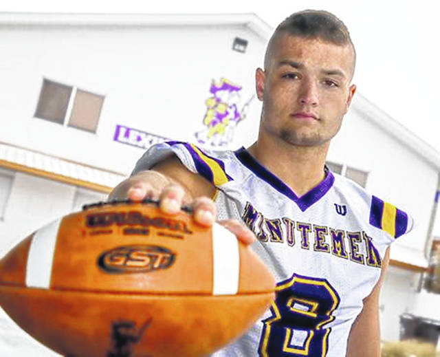 Lexington's Cade Stover was tabbed Mr. Football after he recorded 175 tackles as a linebacker and rushed for more than 1,400 yards as a running back.