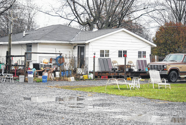 The home of Floyd Russell at 102 W. Hanthorn Road has been the target of enforcement actions by the Perry Township zoning inspector for several years. Neighbors have complained to trustees about unlicensed vehicles and junk that have reportedly littered the property on and off for years.