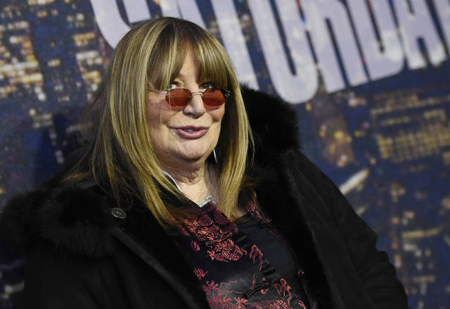 Actress and director Penny Marshall attends the SNL 40th Anniversary Special in New York in 2015. Marshall died Monday of complications from diabetes.