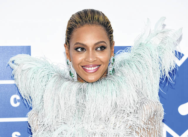 Beyonce Knowles arrives at the 2016 MTV Video Music Awards at Madison Square Garden, in New York. The singer did not release new music, though two albums featuring old Beyonce songs hit streaming services Thursday.