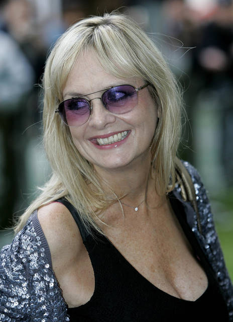 FILE - In this file photo dated Wednesday, Aug. 15, 2007, former English model, actress and singer, Twiggy Lawson, commonly known as Twiggy, in London, England.  Twiggy is among those being recognized in Britain's New Year's Honors List, according to the list of recipients released Friday Dec. 28, 2018. (AP Photo/Nathan Strange, FILE)