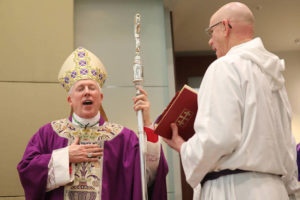 Bishop honors Mercy Health at anniversary mass