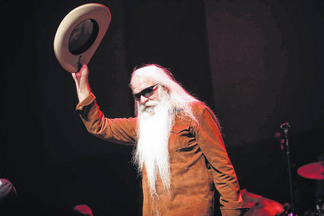 William Lee Golden performs with the Oak Ridge Boys Saturday night in Lima.